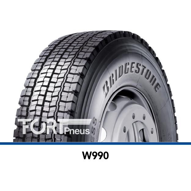 Pneu poids lourd Bridgestone W990