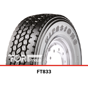 Pneus poids lourds Firestone FT833
