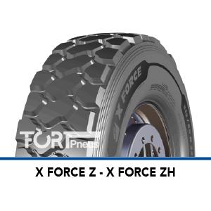 Pneu Michelin X FORCE ZH