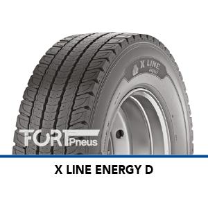 Pneu Poids Lourds Michelin X LINE ENERGY D