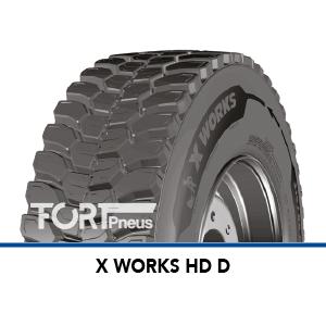 Pneu camion Michelin X WORKS HD D