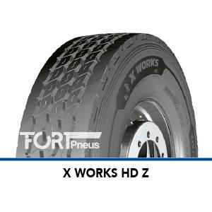 Pneus Michelin X WORKS HD Z