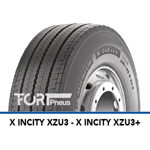 Pneus Poids Lourds Michelin X INCITY XZU3+
