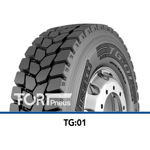 Pneu camion Poids lourd Pirelli TG :01
