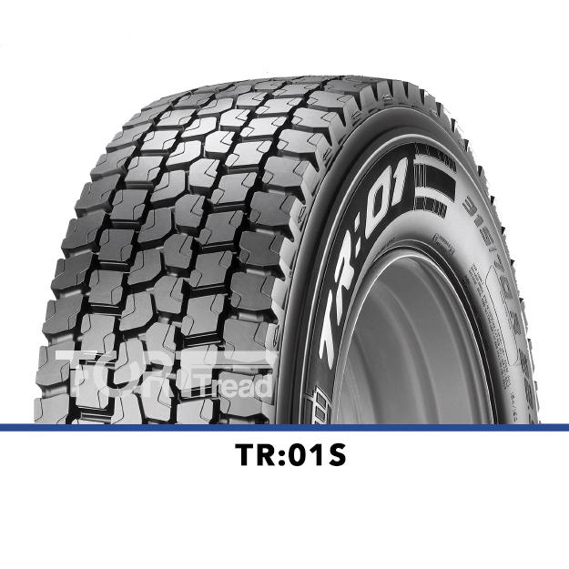 Pneus Poids Lourds Pirelli TR:01s