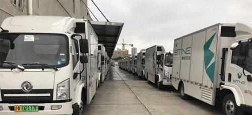 La Chine prévoit une transition vers l'hydrogène pour les camions et les bus.
