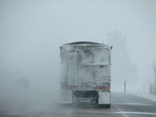 Pneus hiver poids lourds : ce que dit la loi et quand s'équiper