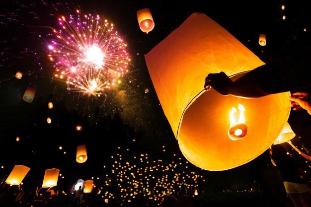 Lanterne volante biodégradable – Sparklers Club - Sparklers Club
